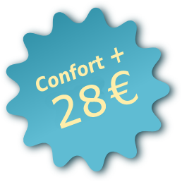 pack confort + 27€ pour votre location vacances