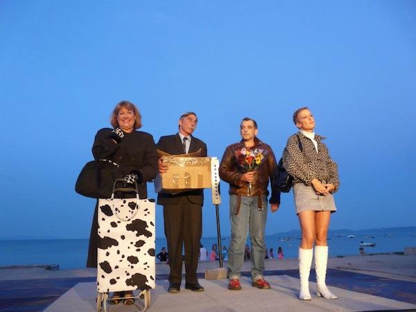 photo de la troupe Côté Cour de Nice