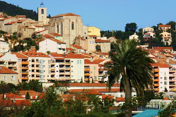 La ville d'Hyères-les-Palmiers